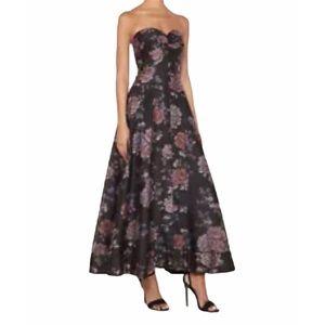 NWT KEEPSAKE The Label Black Garden Atomic Gown 4